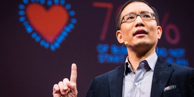 Tony Tjan at TED U.  TED2013: The Young, The Wise, The Undiscovered.  February 26 - March 1, 2013. Long Beach, CA. Photo: Rya