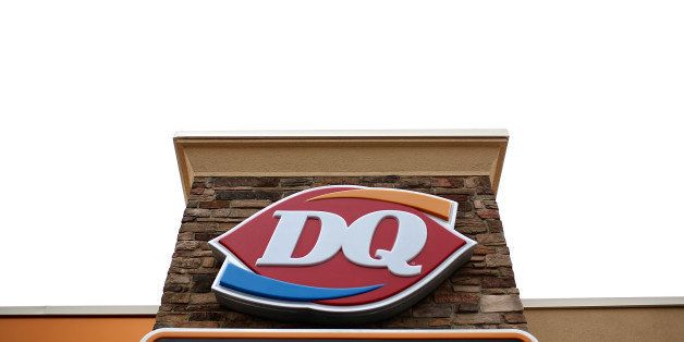 CHARLOTTE HALL, MD - OCTOBER 10:  A Dairy Queen store is shown October 10, 2014 in Charlotte Hall, Maryland. Dairy Queen has