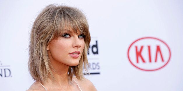 Taylor Swift arrives at the Billboard Music Awards at the MGM Grand Garden Arena on Sunday, May 17, 2015, in Las Vegas. (Phot