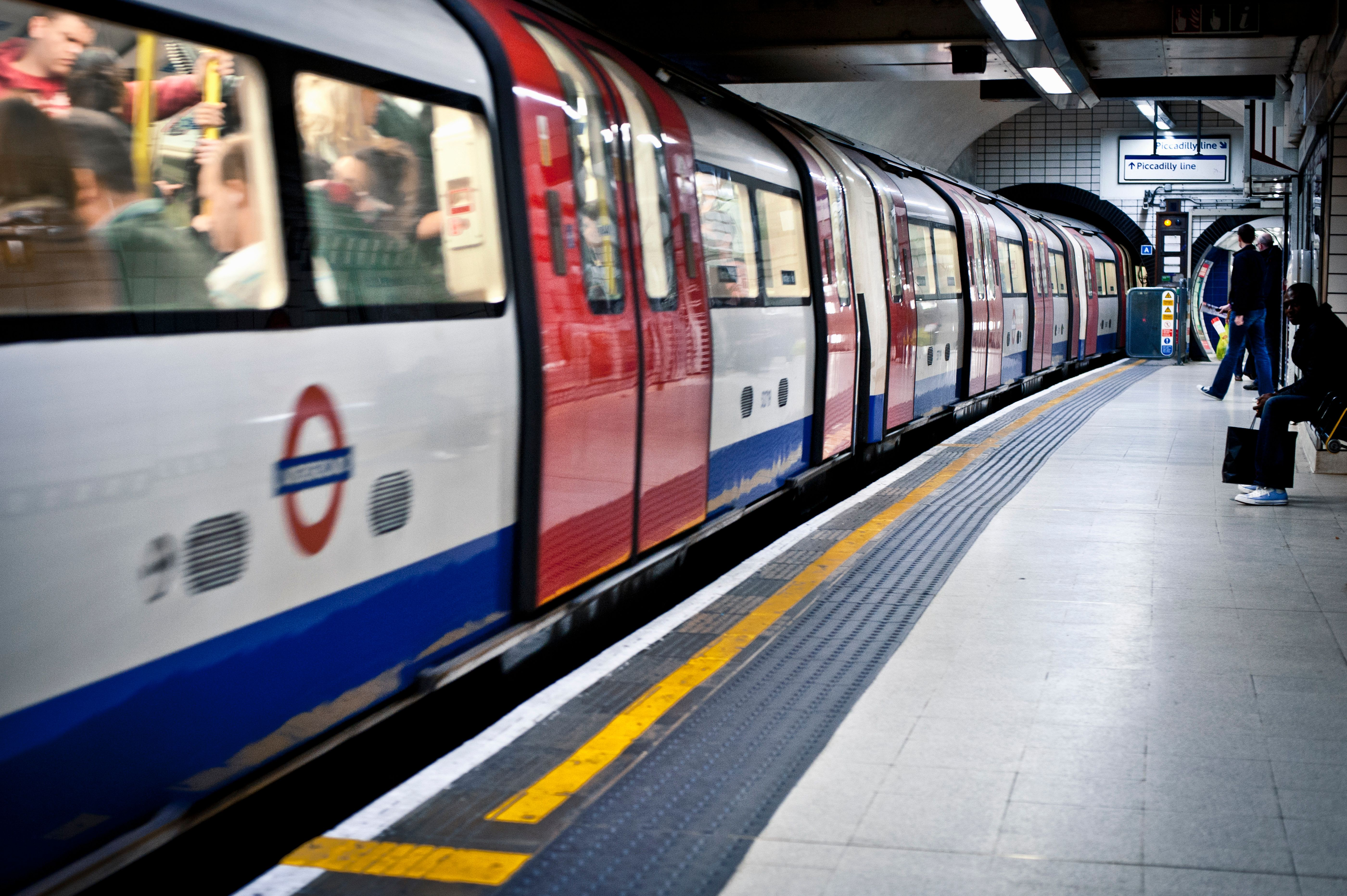 The incident occurred at Marble Arch station (file