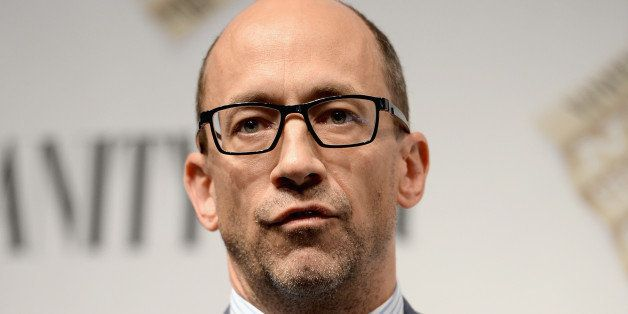 SAN FRANCISCO, CA - OCTOBER 09:  Twitter CEO Dick Costolo speaks onstage during 'Social Goes Global' at the Vanity Fair New E