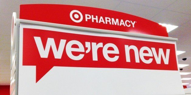 Target Pharmacy , We're New, Signs. End Cap Headers