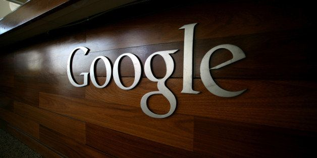 The Google logo is seen at the Google headquarters in Mountain View, California. on September 2, 2011.    AFP PHOTO/KIMIHIRO