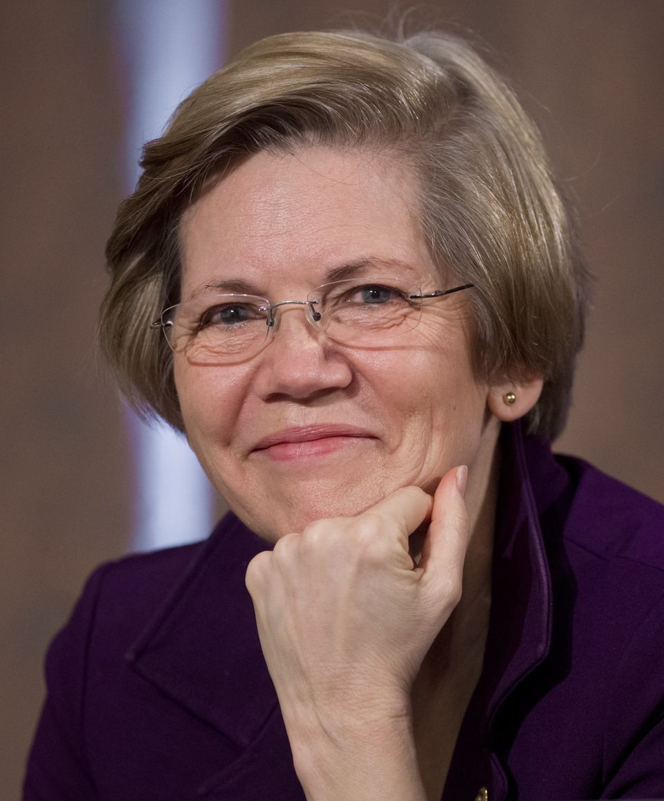 U.S. Democratic Senator Elizabeth Warren of Massachusetts attends a Senate Banking, Housing and Urban Affairs Committee heari
