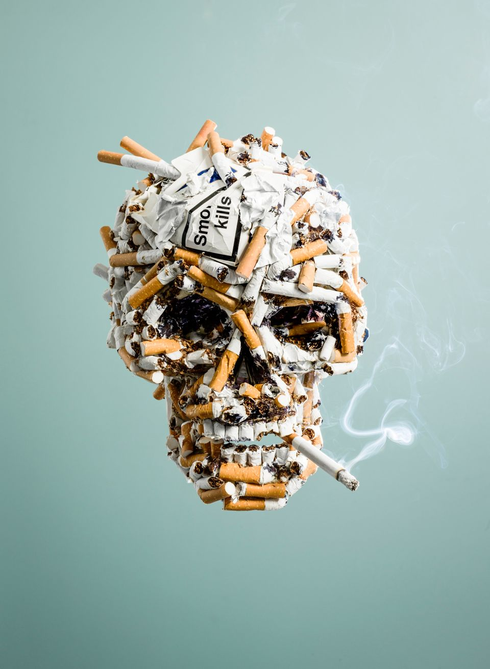 Every cigarette you smoke reduces your expected life span by 11 minutes.
