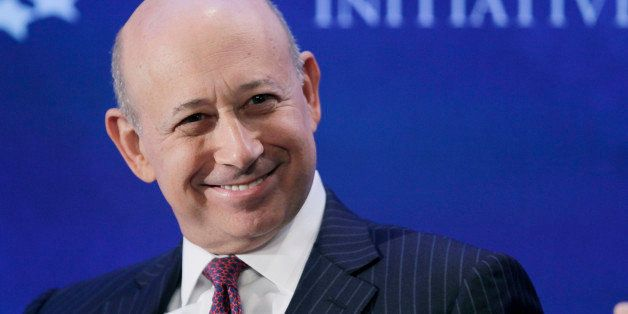 Lloyd Blankfein, Chairman and CEO of Goldman Sachs, attends the Clinton Global Initiative, Monday, Sept. 24, 2012 in New York
