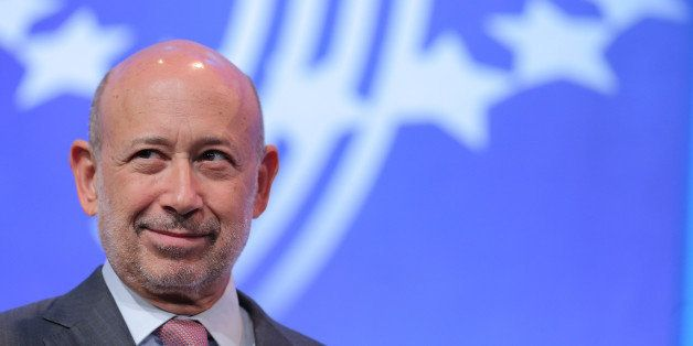 NEW YORK, NY - SEPTEMBER 24:  CEO of Goldman Sachs Lloyd Blankfein attends the fourth day of the Clinton Global Initiative's