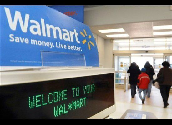 "<a href=""www.walmart.com"" target=""_hplink"">Walmart's</a> Black Friday sale is relatively brief, it runs from 5 AM to 11 AM."