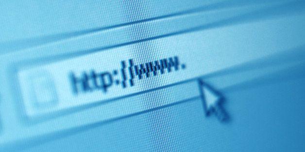 address bar on computer screen