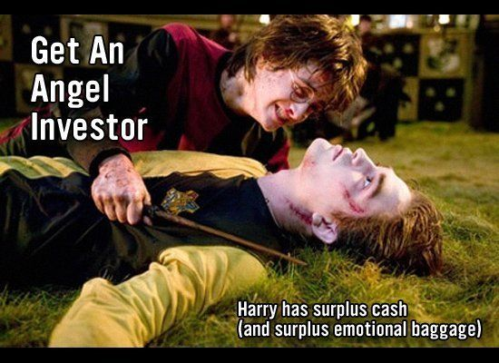 Harry Potter gave Fred and George Weasley 1,000 Galleons worth of seed money (that's just about $10,000.) And you get the imp