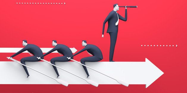 Business 3D rendered illustration
