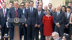 Donald Trump nennt Reporterin dumm: So will das Weiße Haus die Szene