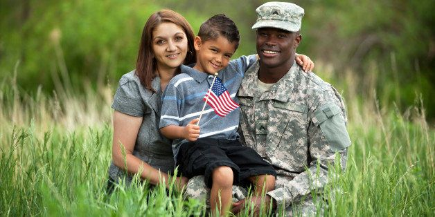 Real American Military Family.