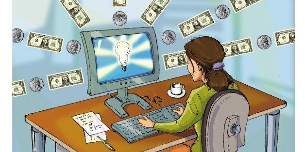 bright online business idea