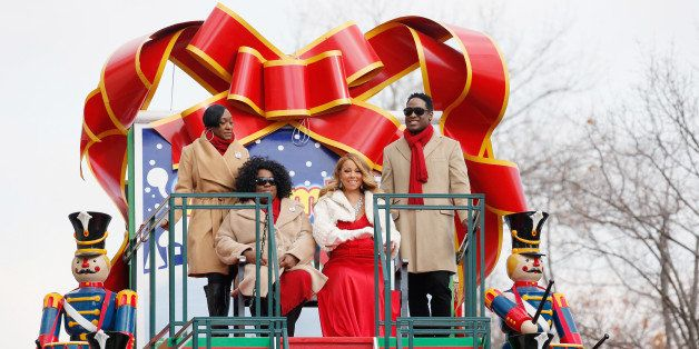 NEW YORK, NY - NOVEMBER 26:  Singer-songwriter Mariah Carey attends the 89th Annual Macy's Thanksgiving Day Parade on Novembe