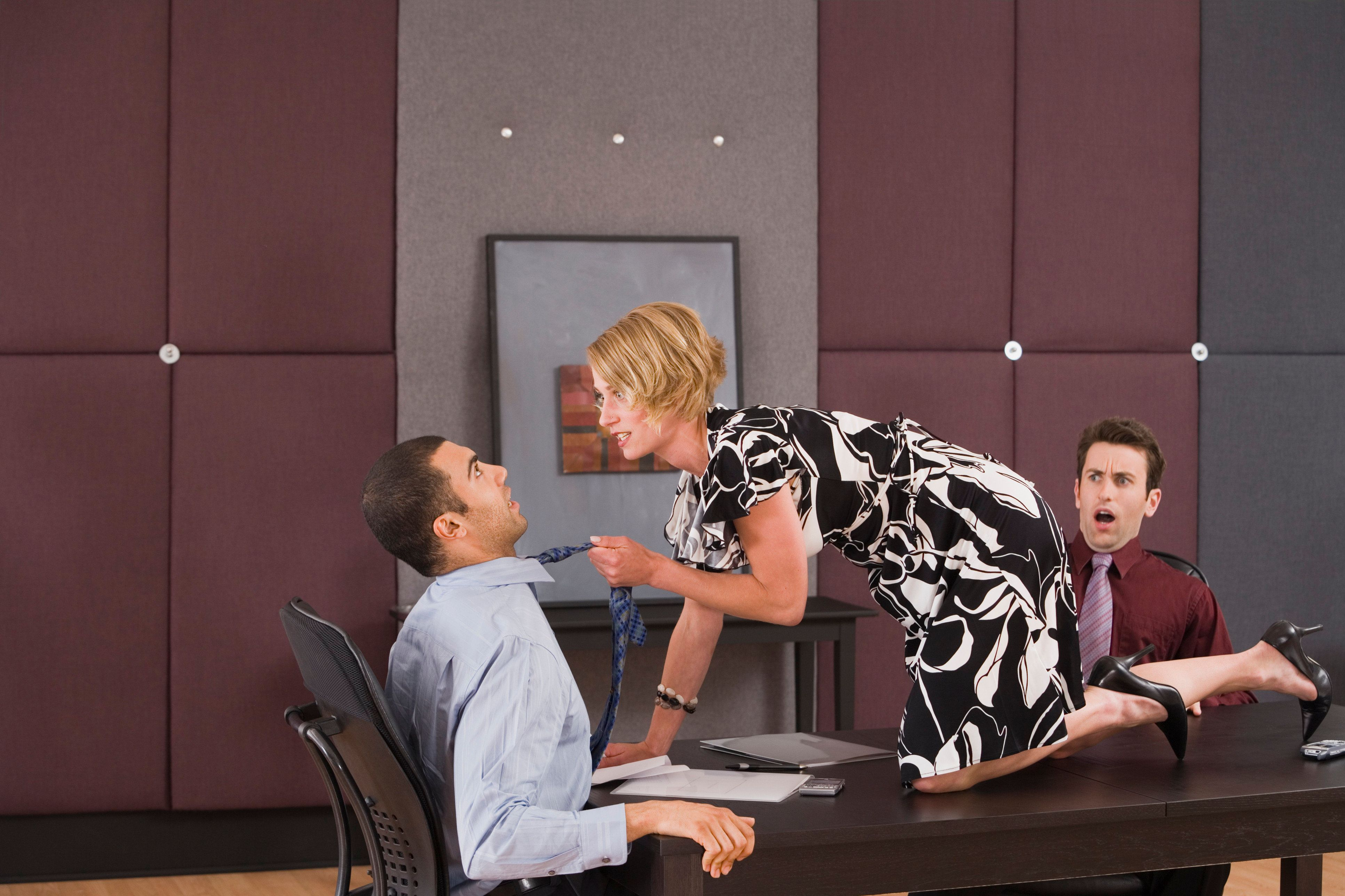 Male sexual harassment in the workplace