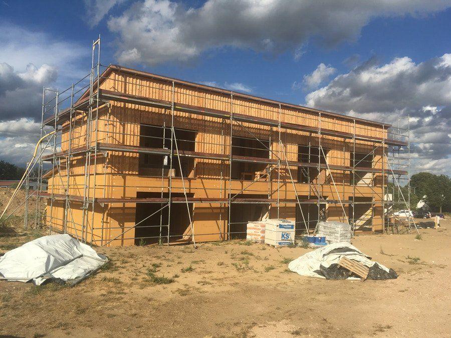 Das erste Haus soll im November bezogen