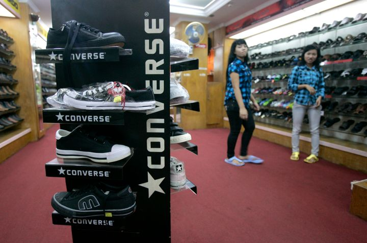 converse shoes owned by nike