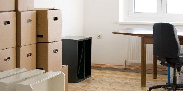 moving boxes in a flat with...
