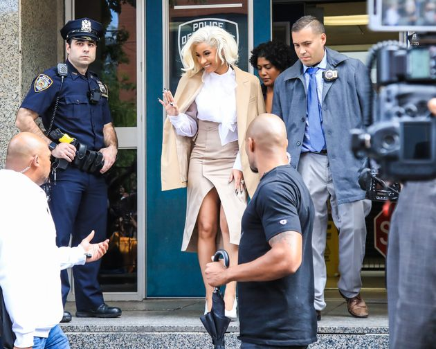 Cardi B has been charged withreckless endangerment and