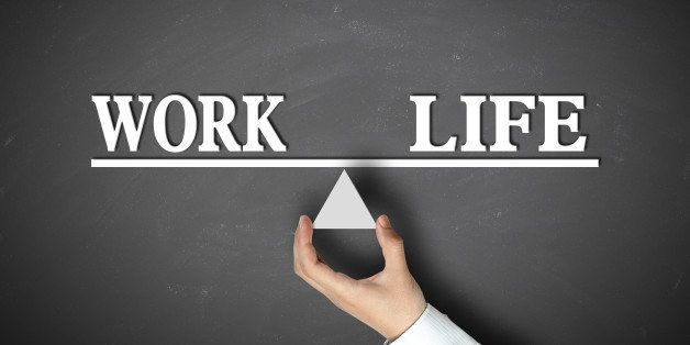work life balance concept with...