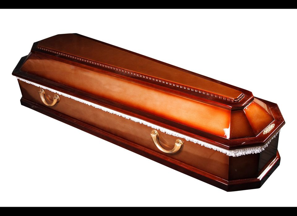 Yep, you read that right: Costco sells coffins. Starting at about $950 and ranging up to $3,000, coffins can be ordered onlin