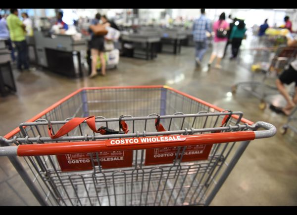 The good old-fashioned way is to visit Costco with a member and fill your cart. While the member will need to pay for your or