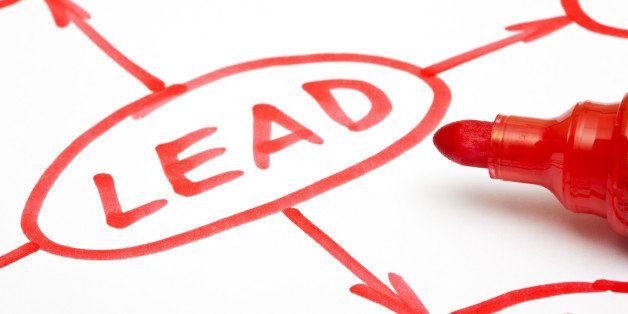 leadership flow chart written...