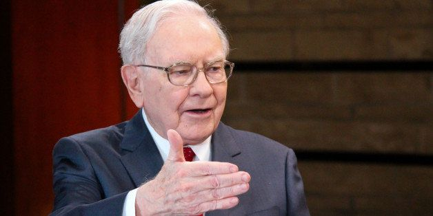 SQUAWK BOX -- Pictured: Warren Buffett, chairman and CEO of Berkshire Hathaway, and consistently ranked among the world's wea