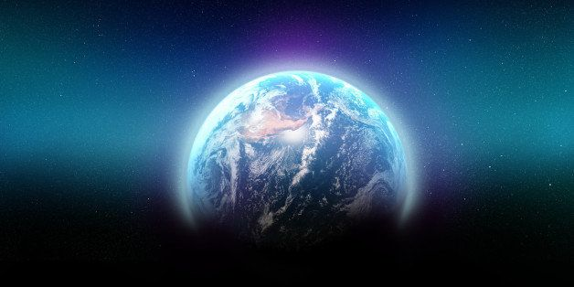 Shot of planet earth showing north america - ALL design on this image is created from scratch by Yuri Arcurs'  team of p