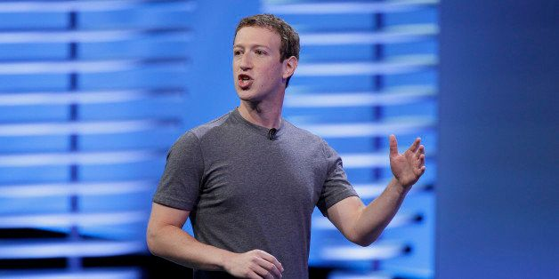 FILE - In this Tuesday, April 12, 2016, file photo, Facebook CEO Mark Zuckerberg delivers the keynote address at the F8 Faceb