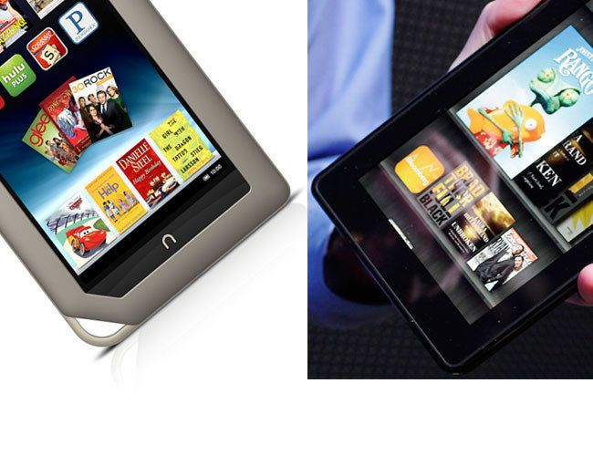 Kindle Fire vs  Nook Tablet: Which 7-Incher Is Best For You