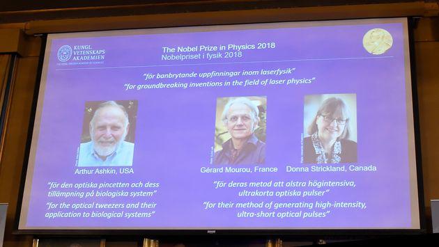 올해 노벨물리학상에서 역사상 3번째 여성 물리학상 수상자가