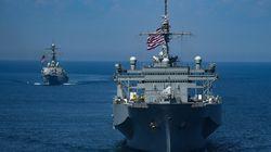 Südchinesisches Meer: Kriegsschiffe der USA und Chinas beinahe