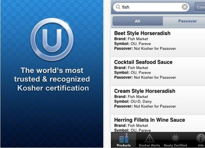 Ou Kosher Orthodox Union Releases App For Keeping Kosher During