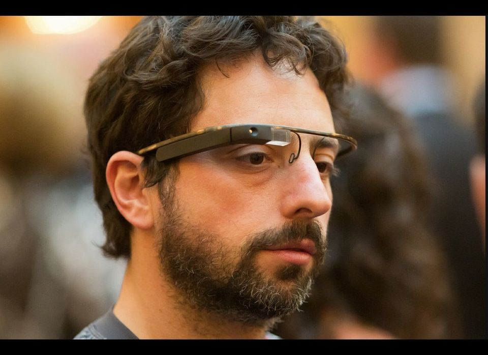 On April 7, Google co-founder Sergey Brin was the first Googler to be spotted in the wild wearing Google Glasses. He wore the