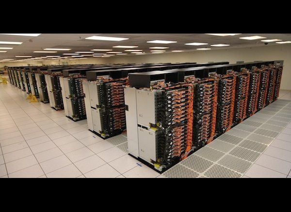 The Sequoia is the top-ranked supercomputer on the biannual TOP500 list for June 2012. It's located in the United States, and