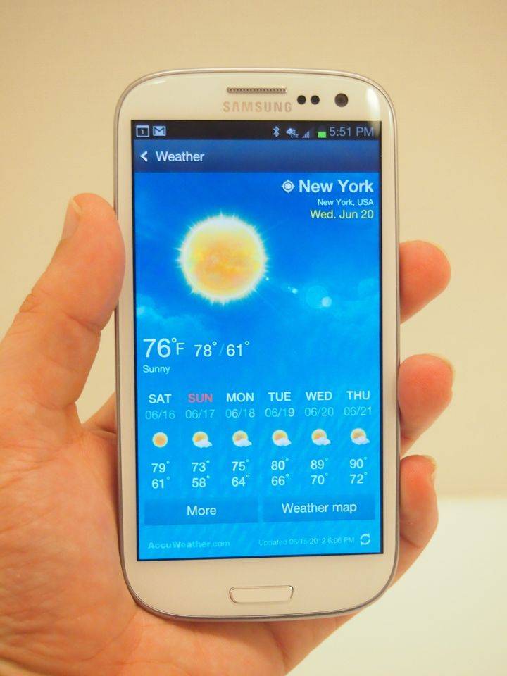 Galaxy S3 Review: Samsung's Latest Gives iPhone 4S Run For