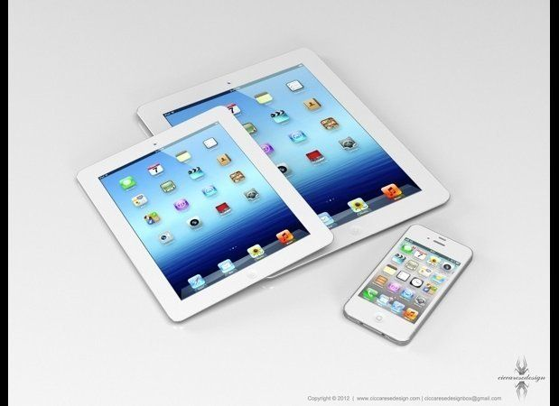 We've been talking about the iPad Mini -- a smaller, cheaper version of the iPad, with a display just slightly larger than th