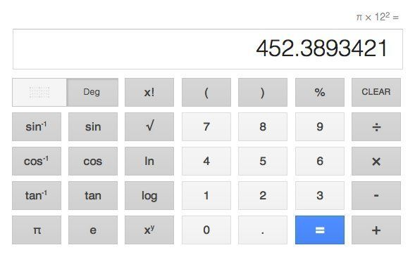 Google Calculator Now Gives You A Big Keyboard (Plus Voice