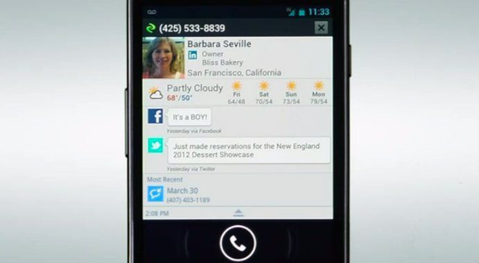 Current Caller ID: Android App Shows Caller's Facebook Updates