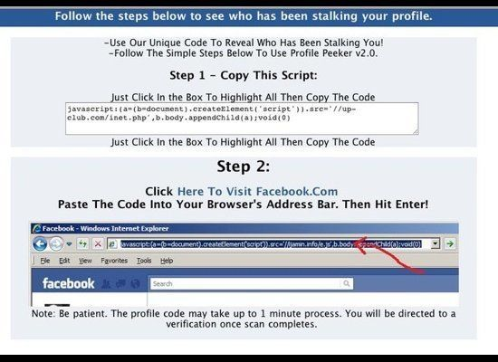 Clickjackers on Facebook entice users to copy and paste text into their browser bar by posting too-good-to-be-true offers and