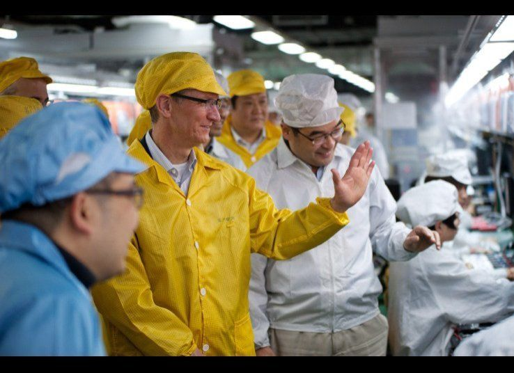 Apple's problem of allegedly poor working conditions at its suppliers' factories in China had been known for some time, but t