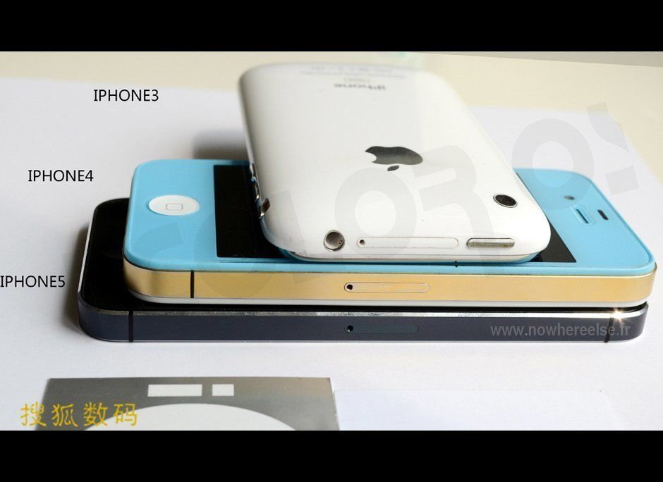 The iPhone 5. The iPad Mini. A modified iPad. A 13-inch MacBook Pro with Retina Display. A new iPod Touch. A new iPod Nano. T