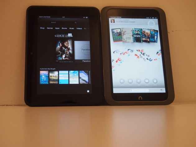 Kindle Fire HD And Nook HD: Two Tablets To Consider Instead