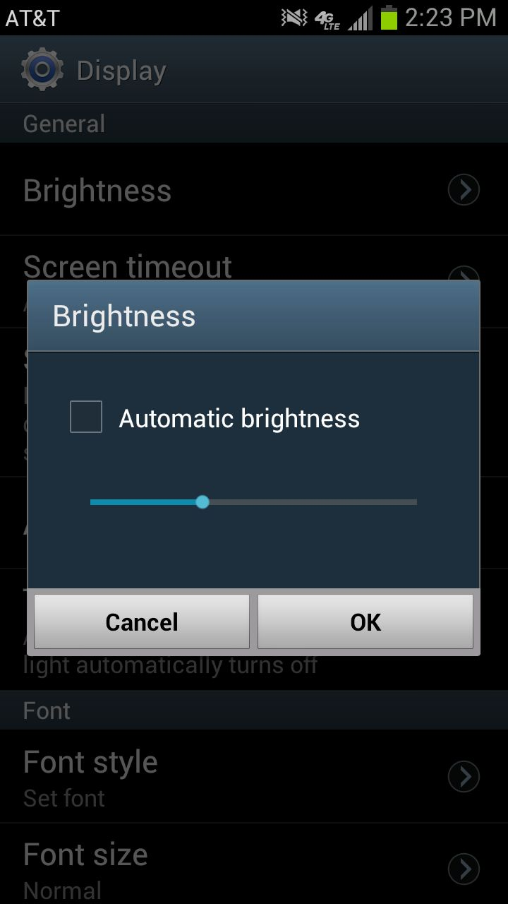 You like to shine, I know. But if you want to save battery, you have to turn it down a notch.   Your super-bright Super AMOLE
