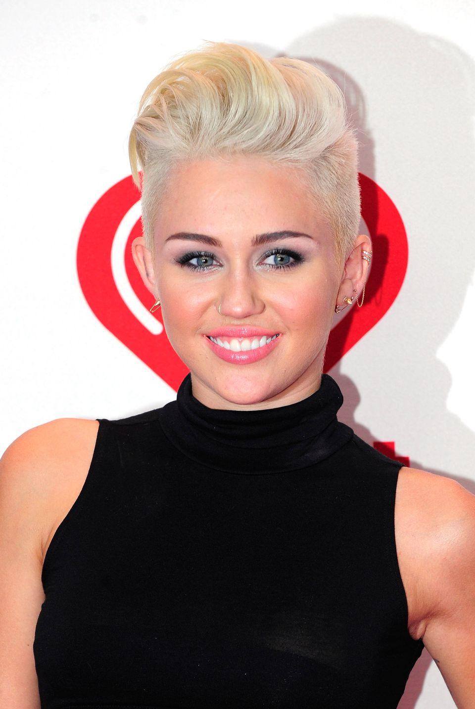 """Why did Miley Cyrus <a href=""https://www.huffpost.com/entry/miley-cyrus-cuts-her-hair-pixie-cut-blonde_n_2164400"">cut her ha"