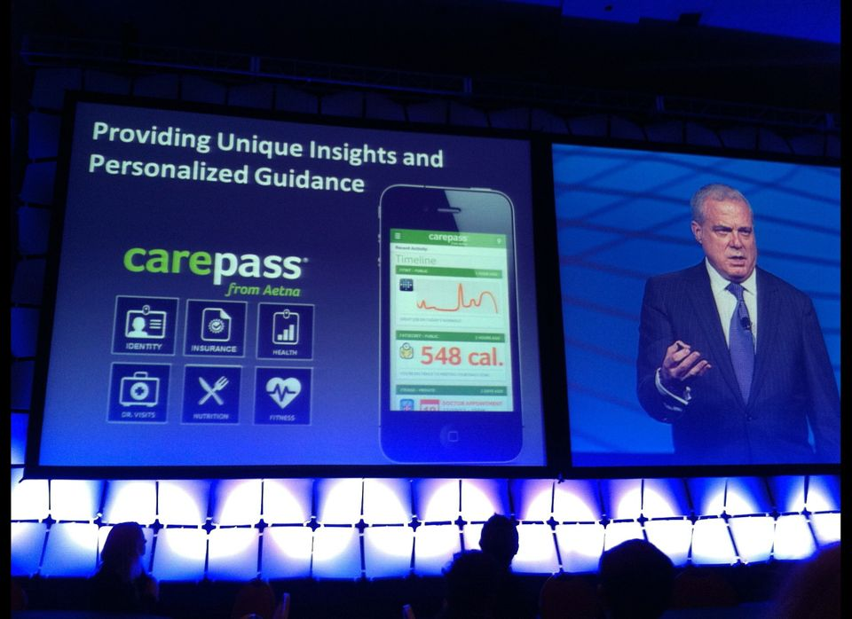 Mark Bertolini, Chairman, CEO, President of Aetna, talks about their CarePass app