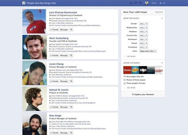 7 ways you can use facebook s graph search huffpost