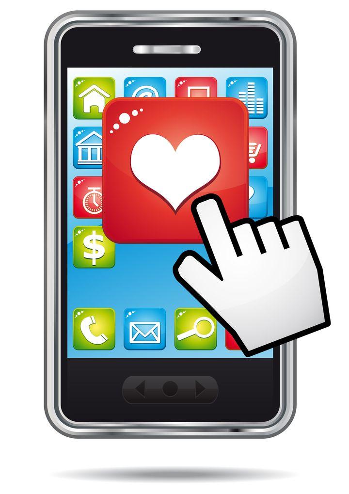open heart application on a a...
